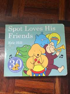 Spot loves his friends