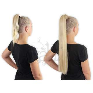 Zala Hair Extensions - Clip In Ponytail 22""