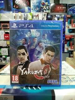 🆕 PS4 Yakuza Zero
