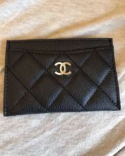 Chanel card holder 香水贈品