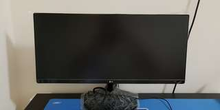 Jual LG Ultra Wide 25UM58-P gaming monitor