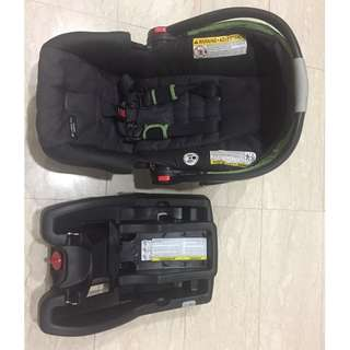 Graco snugride 30 click connect car seat and base