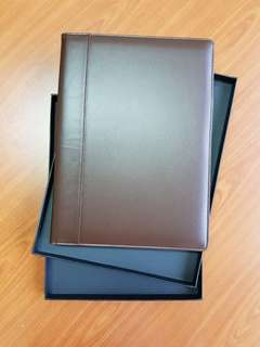 Folder A4 Brown (Synthetic Leather)