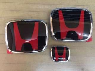 Honda Civic FC H Logo