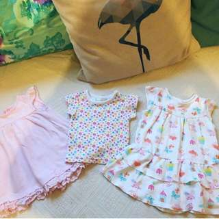 Bundle Baju Baby Girl Dress from UK 3-6m