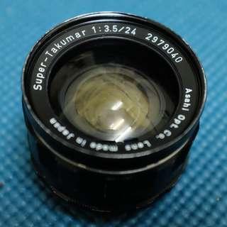 SMC Takumar 35mm F3.5 [M42 mount]