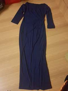 Royal Blue Long Dress/gown