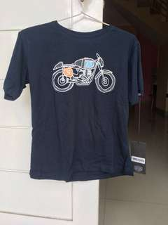 Deus ex machina Tshirt Navy Blue size M Original