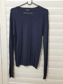 Navy blue jumper CONNOR