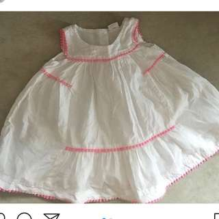 Baby girl dress from UK 6-9m