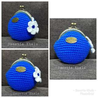 Handmade Coin Purse crochet (kait)