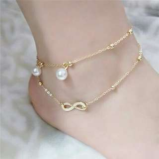 Beaded Infinity Anklet