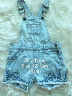 Zara baby girl jumpsuit