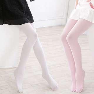 (3 對 1手)女童天鵝絨連褲襪 包郵