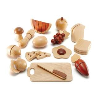 Magic Forest - Red Wood Fruit Set