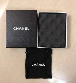 Chanel 頸鏈盒+塵袋