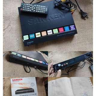 DVD Player Sanken SDD-1095P