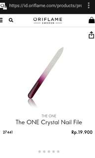 The One Crystal Nail File