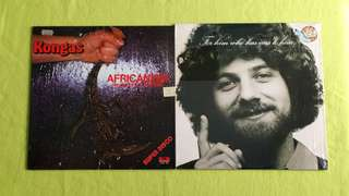 KONGAS ● KEITH GREEN . Africanism / for him who has ears to hear  ( buy 1 get 1 free )   vinyl record