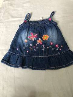RedTag baby denim dress