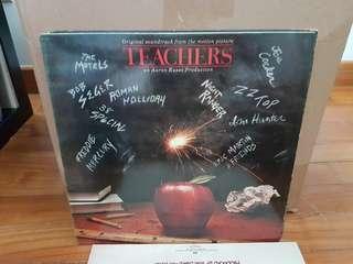 Teachers Original Soundtrack Vinyl LP Original Pressing Rare