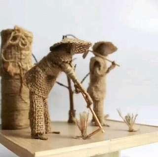miniatur petani