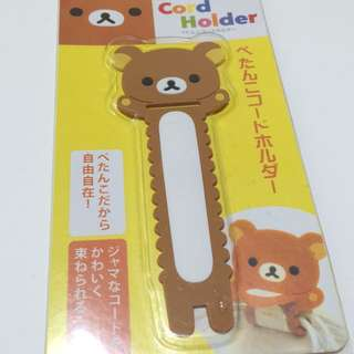 Rilakkuma Cord Holder