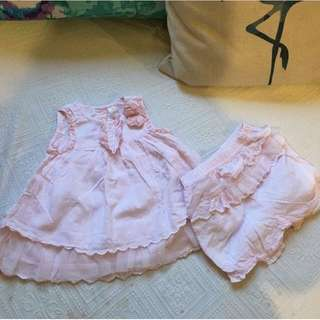 Zara baby girl dress 6-9m