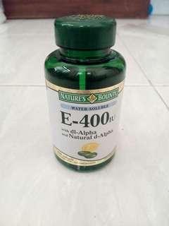 Nature's Bounty Vitamin E - 400 IU