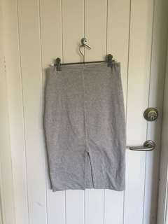 Kookai grey skirt