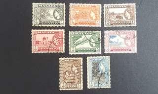 Malaya Penang stamps QE2
