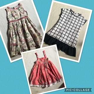 Bundle of 3 preloved girls clothing