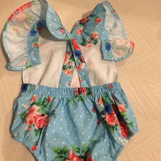 Baby girl Playsuit Romper 6months
