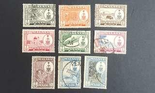 Malaya Penang stamps