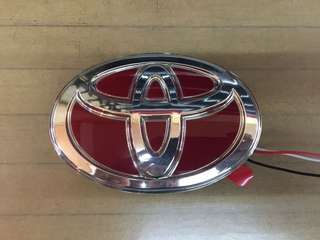 Toyota Logo With LED Light