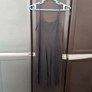 Cotton on grey dress