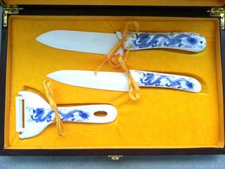 Ceramic knife with gift box