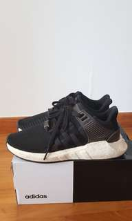 new concept 035af a811b Adidas EQT Support 9317 Milled Leather