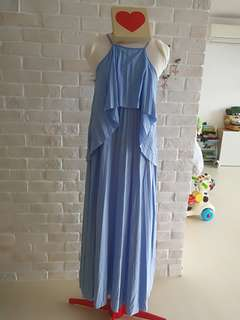 Dress Bundle of Four!!! Maxi Dress Pleated Chiffon Brand new