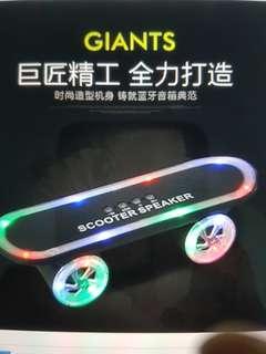 Skateboard Lighting Speaker