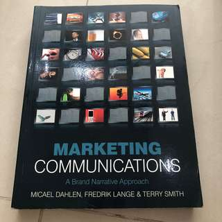 Buku bahasa Inggris - Marketing Communication