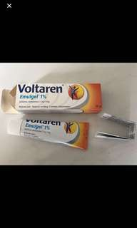 Voltaren Emugel, 50g, reduces pain and swelling, brand new