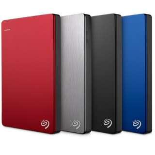 Seagate 1TB Backup Plus Slim External HDD
