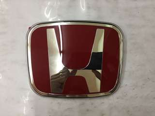 Honda H Logo Red