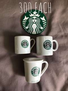 Starbucks demitasse mugs