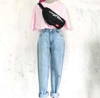 BERSHKA Mom Fit Jeans