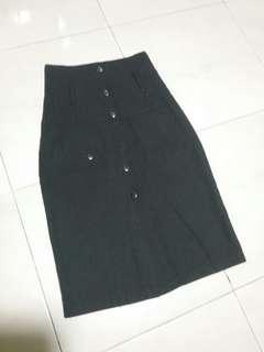 Hug high waist skirt