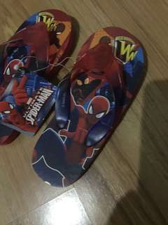AUTHENTIC SPIDERMAN SLIPPERS