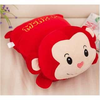 Blanket Cartoon Cushion Pillow