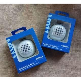 2 Speaker portable merk Nokia